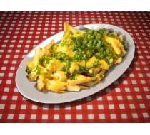 Картофель фри c сыром и чесноком