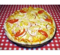 Пицца Гавайская на пышном корже