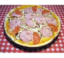 Пицца с копченым мясом