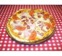 Пицца барбекю на пышном корже