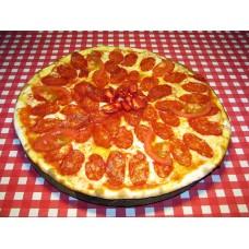 Пицца пеперони на пышном корже
