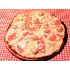 Пицца с фрикадельками 24 см.