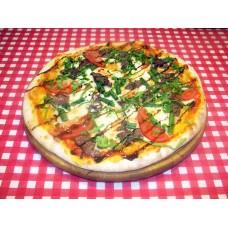 Пицца с телятиной на пышном корже