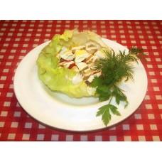 Теплый салат Гурме