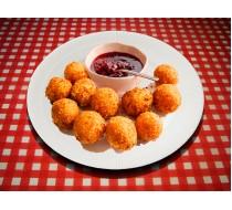 Сырные шарики с джемом